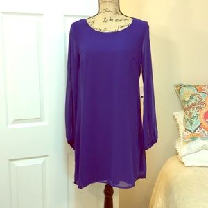 As U Wish Cold Shoulder Mini Dress NWOT!